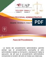 AYUDA 8 Derecho Procesal Administrativo (Ciclo.vi)
