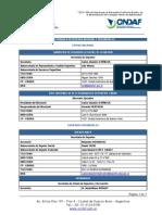 Listado de Organismo Nacionales y Provinciales de Deporte