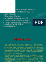 Clase 2 (Entamoeba Hystolitica, Amebas de Vida Libre)