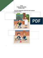 Guía 1° Básico Cs. Sociales