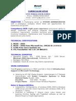 hp Windows ITIL Administartor