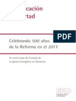 Justificacion y Libertad 500 Años Reforma