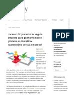 Processo Orçamentário (Workflow Orçamentário)_ o Guia Completo!