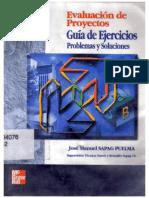 Evaluacion de Proyectos Guia de Ejercicios Con Soluciones Nassir Sapag