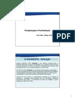 Aula 2 - Definição e Classificação Do Pavimento
