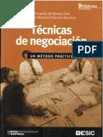 Tecnicas de negociacion. Metodo practico.pdf