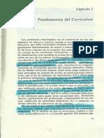 Coll. Las Fuentesv y Fundamentos Del Curriculum Cap.2