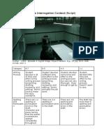 pllice interrogation feedback rubric
