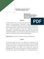 La Investigacion Social en Zacatecas