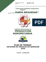 PLAN DE ADMISION AGRO  2016.docx