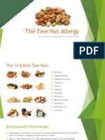 the tree nut allergy