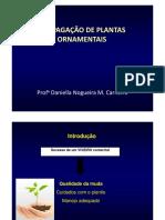 Propagação de Plantas Ornamentais 2016-2