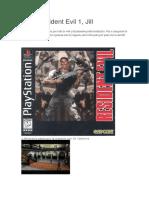 Guía Resident Evil 1