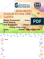 123446547 49703298 Banding Beza Model Disiplin Kounin Dan Glaser
