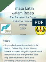 2) Farmasetika_Bahasa Latin, Resep.pdf