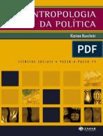 Antropologia Da Politica- Karina Kuschnir