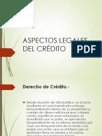 Aspectos Legales Del Crédito