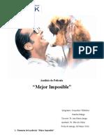 Análisis de Pelicula Mejor Imposible