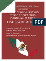 Album de Los Precidentes de Mexico[1]