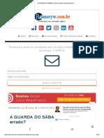A GUARDA DO SÁBADO, Certo ou errado_ _ Romaryw.com.pdf