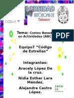 3.2.8Costos ABC