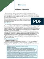 Profilaxis de La Tuberculosis