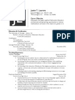 2017 resume template