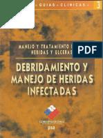 Guia 3 Debridamiento y Manejo de Heridas Infectadas.pdf