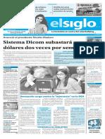 Edicion Impresa El Siglo 28-03-17