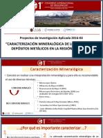 Caracterización Mineralogica AQP