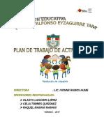 Plan de Actividad Sociales 2017 . 1