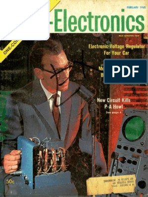 Radio Electronics 1960 02 | Resistor | Television on