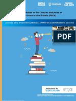 Plan de Ciencias Naturales Igualdad y Calidad Educativa