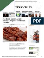 Facebook_ Gastón Acurio Enseña a Preparar Costillas de Chancho _ Facebook _ Redes Sociales _ El Comercio Peru
