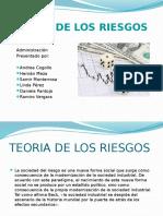 4teoría de Los Riesgos Diapositivas