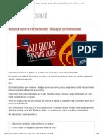 01 Minuto 30 Guitarra Horario de Práctica - Ejercicios Diarios y Semanales _ GUITARRA WARNOCK MATT