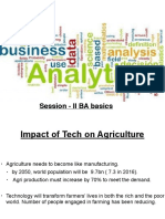 Business Analytics 9605 Session 2