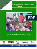 Análisis de Cadenas de Valor. Estudio de Marketing Territorial del Departamento del Valle de Yeguaré, Honduras