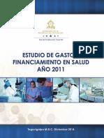 Gasto y Financiamiento en Salud 2014