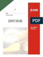 Documentación Sigpat Online Act