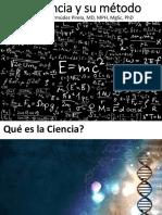 La Ciencia y Su Método 27-03-2017