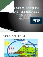 El Agua,Ciclo Hidrológico y Contaminación CLASE 1