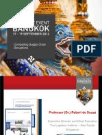TheLogisticsInstituteAsiaPacific CombatingSupplyChainDisruptions Presentation