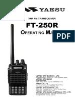Yaesu Ft250 Manual e