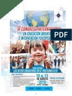 MEMORIAS III CONGRESO INTERNACIONAL EN EDUCACION 2016.pdf