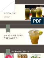 Air Tebu Nostalgia