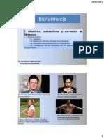 Clase 1 Biofarmacia