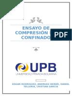 Informe Academico Ensayo Confinado