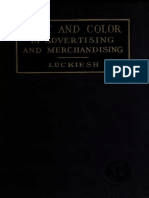 Light Color in Advertisement