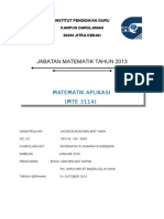 Matematik Dalam Kehidupan Seharian